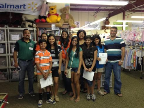 Atlanta Vibha Youth at Work